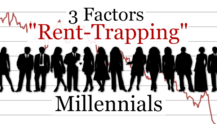 "3 Factors ""Rent-Trapping"" Millennials (Image Source: Pixabay Creative Commons)"